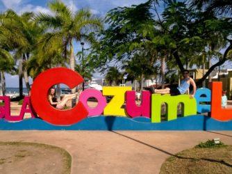 Mexiko 2. časť: Spoznávame ostrov Cozumel
